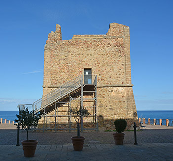 Coastal Tower of the Marquis in Finale di Pollina
