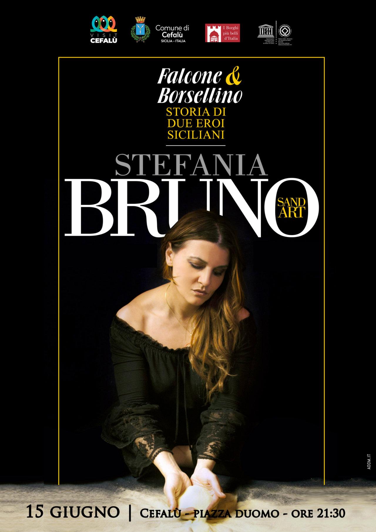 Stefania Bruno omaggio a falcone borsellino