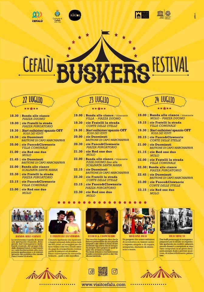 Cefalù Buskers Fest