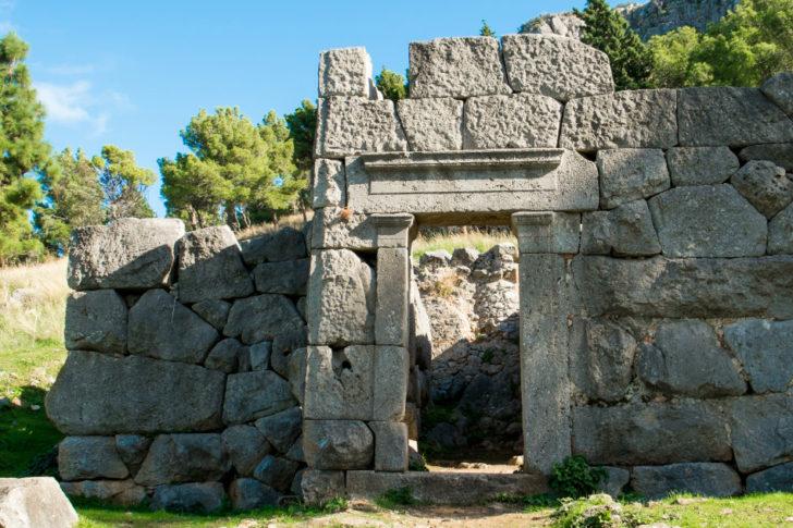 tempio di diana a cefalù
